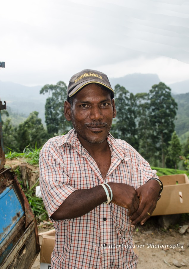 Mango vendor Ratna Kumar at Nuwara eliya