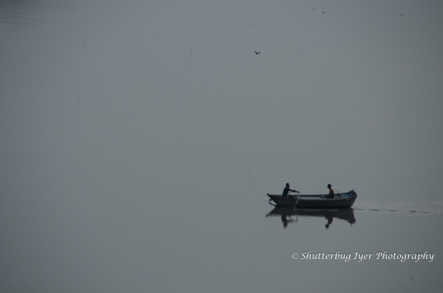 Boatmen in the Yamuna
